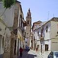 Typical Street In Ecija Spain by Bruce Nutting