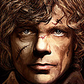 Tyrion Lannister - Peter Dinklage Game Of Thrones Artwork 2 by Sheraz A