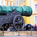 Tzar Cannon Of Moscow Kremlin by Alexander Senin