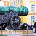 Tzar Cannon Of Moscow Kremlin - Square by Alexander Senin