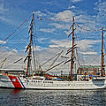 U S C G Barque Eagle by Mike Martin