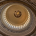 U S Capitol Rotunda by Steve Gadomski