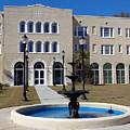 U S M Gulf Coast Hardy Hall by Kathy K McClellan