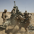 U. S. Marines Ram A Satellite-guided by Stocktrek Images