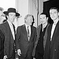 U2 Meet Taoiseach Charles Haughey by Irish Photo Archive