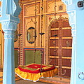 Udaipur Palace Swing by David Rich