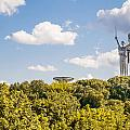 Ukraine Motherland Statue  by Alain De Maximy