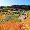 Ulm Pishkun Buffalo Jump Ridgeline  by Matthew Peek