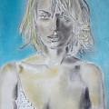 Uma Thurman Portrait by Dan Twyman