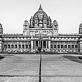 Umaid Bhawan Palace Monochrome by Steve Harrington