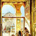 Umayyad Mosque by Munir Alawi