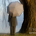 Umbrella And Tree by Mats Silvan