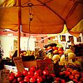 Umbrella Fruitstand - Autumn Bounty by Miriam Danar