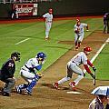 Umbrella Man At Royals Baseball by Christopher McKenzie