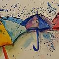 Umbrellas by Elaine Duras