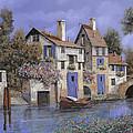 Un Borgo Tutto Blu by Guido Borelli