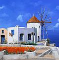 un mulino in Grecia by Guido Borelli