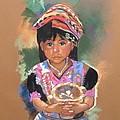 Una  Nuevo Poco Vendedor Guatemalan by Suzanne Cerny