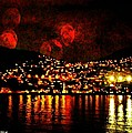 Corinth Under A Milti Moon Sky by Ellen Cannon