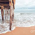 Under The Boardwalk Salsibury Beach by Edward Fielding