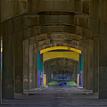 Under The Bridge   #1247 by J L Woody Wooden