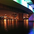 Under The Bridge In Long Beach by Jenny Hudson