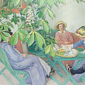 Under The Chestnut Tree by Carl Larsson