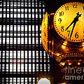 Under The Famous Clock by Miriam Danar