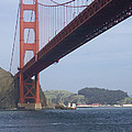 The Golden Gate Bridge San Francisco California Scenic Photography - Ai P. Nilson by Ai P Nilson