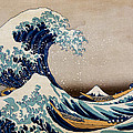 Under The Great Wave Off Kanagawa by Georgia Fowler