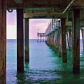 Under The Pier by Chuck  Hicks