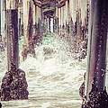 Under The Pier Vintage California Picture by Paul Velgos