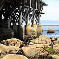 Under The Steinbeck Plaza Overlooking Monterey Bay On Monterey Cannery Row California 5d25050 by Wingsdomain Art and Photography
