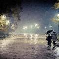 Under The Umbrella by Samuel Majcen