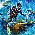 Under Water by Leonid Afremov