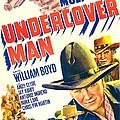 Undercover Man, Us Poster, Bottom by Everett