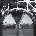 Underneath The George Washington Bridge Iv by Clarence Holmes