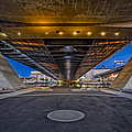 Underneath The Zakim Bridge by Susan Candelario