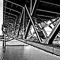 Underside Of The Burnside Bridge by Gary Silverstein