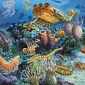 Underwater Paleozoic Landscape by Publiphoto