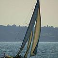 Underway In Newport by Joe Geraci