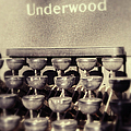 Underwood by Paulette B Wright