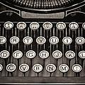 Underwood Typewriter by Heather Applegate