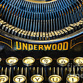 Underwood Typewriter by Paul Ward