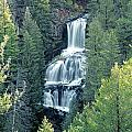 109008-undine Falls In Yellowstone by Ed  Cooper Photography