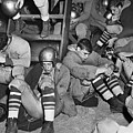 Unhappy Football Team by Walter Albertin