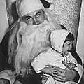 Unhappy Santa Claus by Underwood Archives