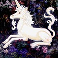 Unicorn Floral by Genevieve Esson