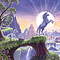 Unicorn Moon by Steve Crisp