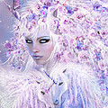Unicorn Rose Goddess by Carol Cavalaris